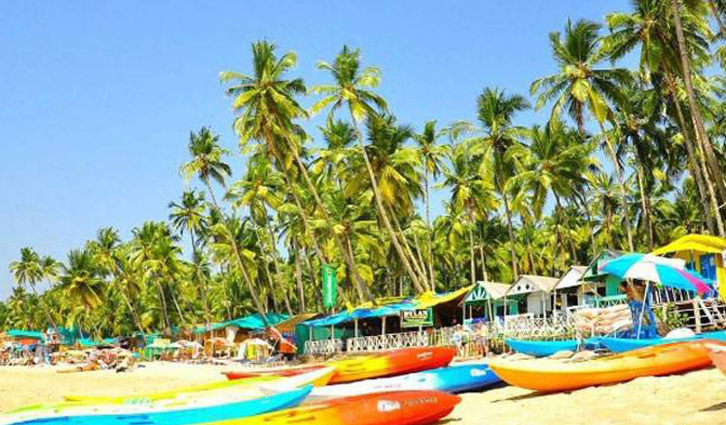 Golden Triangle with Varanasi Goa Tour Package Including Goa